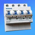 Dc disjuntores DC MCB Solar DC MCB 10Ka WS-ZL7