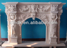 Italian marble fireplaces mantel