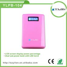 hot sale dual usb 6600/8500mah power bank case for samsung galaxy s4 mini i9190
