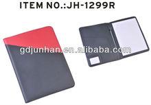 Jh-1299r de grabación en relieve de cuero sintético del informe