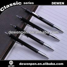 2013 dewen cheap student thin metal ball pen