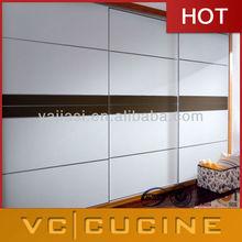 Modern double color wardrobe design furniture bedroom