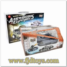 Amphibious shooting 1:16 scale rc tank
