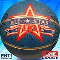 bola de la fábrica de tamaño estándar de peso de calidad de goma de la pu de cuero del pvc estados unidos baloncesto baloncesto
