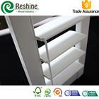 PVC Vinyl adjustable plantaiton louver shutter windows