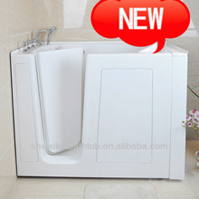 New design walk-in tub and safety tub with shower for older people CWB3054