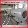 Water/Gas supplying HDPE pipe making machine/PE pipe machine