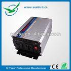 Seabird PI-1500 power inverter 2000w 12v 220v, inversor de corriente w/ 110V AC/220V AC 2 outlet 3000w peak