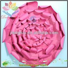 Custom design felt flower pillows