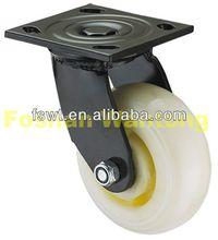 High Quality Korean White Nylon Industrial caster wheel for speaker