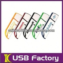 Plastic gadget usb flash drive,1G to 32G factory supplier with customized logo usb flash