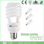 2015 new half spiral energy saving bulb e27 low price