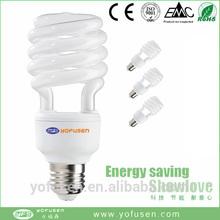 2015 new half spiral energy saving bulb e27 low price