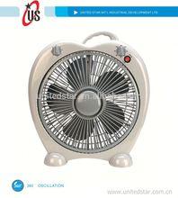 """8inch/10inch/12inch box fan turbo fan 16"""" box fan with 360 oscillation"""