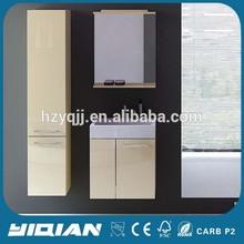 Hangzhou Factory Modern Design Hanging PVC Small Mirror Bathroom Vanities Ideas