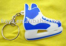 PVC shoe shape 3D Keychain