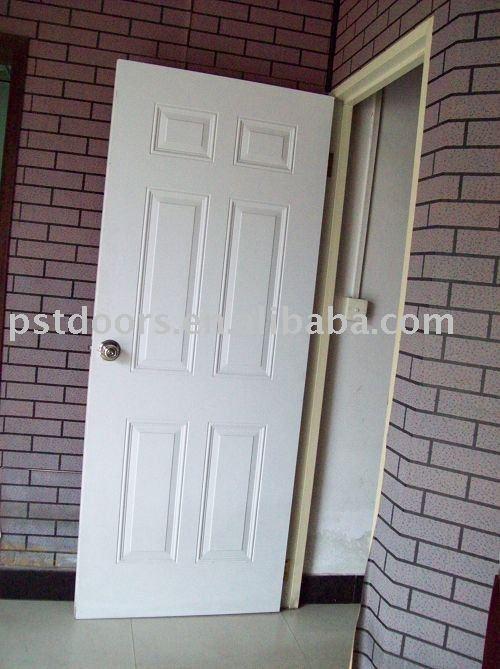"American style steel door , steel frame (10"" ,9"")"