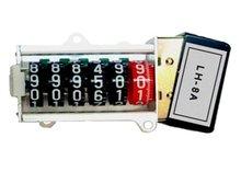 Eléctrica vatios - contador de horas de contador de impulsos