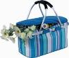 folding picnic cooler basket