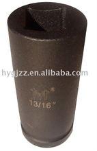 "3/4"" Sq.Dr. SAE Deep Double Square Impact Socket/Auto Repair Tool/HUAYI TOOLS CRMO HY10154S"