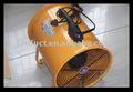 Industrial ventilador axial y la energía - ahorro de escape del ventilador