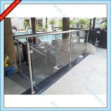 Hotel Wyndham Standard Australia Glass Balcony Railing, Glass Stair Railing, Glass Railing