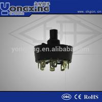 16A 250V AC ENEC17 CQC rotary selector switch