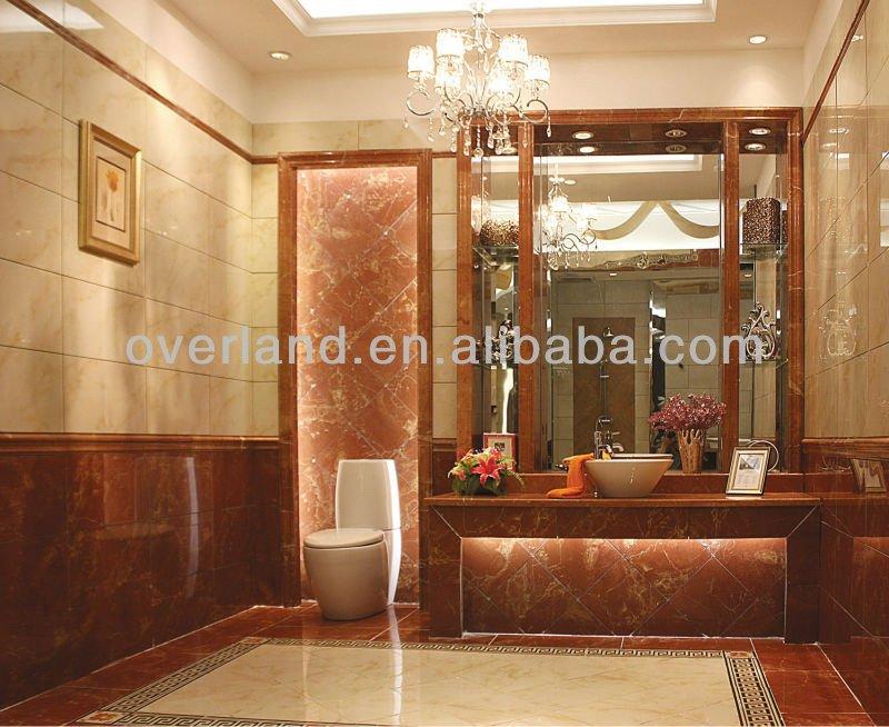 En céramique carrelage salle de bains bord. qp988