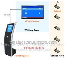 Complete Banking/Health Center/Consulate/Telecom Wireless Queue System
