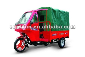 Passenger Tricycle with Semi Cabin/Cargo Tricycle made in China HL200ZH-4