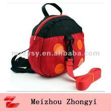 2012 new animal backpacks for children cheap ladybird school bag