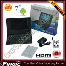 cheap 7 inch mini laptop wifi netbook