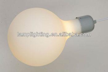 Modern high quality opal glass pendent lamp
