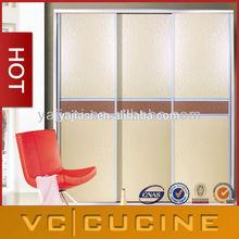 Guangzhou simple design mat melamine wardrobe units