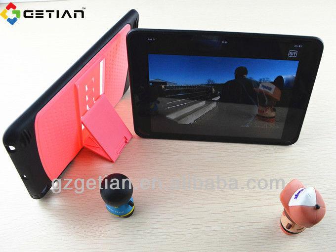 ipadのミニ用のウッドケース、 付きi pad用ケースクレジットカードホルダー、i pad用ミニケース付き長財布