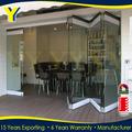 Tamaño estándar de aluminio de la ventana y puerta de aluminio de la puerta de cumplir con las normas australianas como/nz 2047 como/nz 2208 como/1288 de nueva zelanda