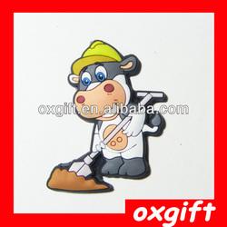 OXGIFT 3D Soft Pvc Fridge Magnet,souvenir fridge magnet