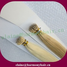 Wholesale nano ring hair extensions/nano ring hair/nano bead human hair extensions