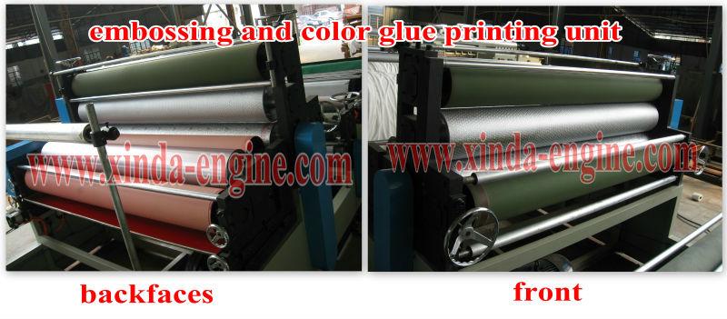 Kitchen towel paper toilet paper printing making machine