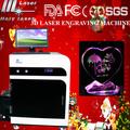 Frohe weihnachten! Beste Angebot HSGP- 2kd 3d-kristall-laser graviermaschine preis