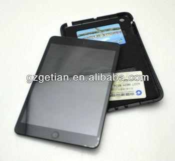 case for ipad mini,new arrival waterproof leather handheld ipad mini case