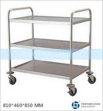 Hotel Service Cart Trolley - Three Shelf, 810*460*850 MM, TT-BU102B
