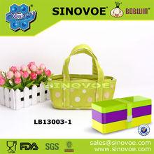 polyester cooler bag for storaging meals, vegetables and frozen food