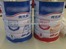 fórmula de bebé de la leche en polvo hecho en europa