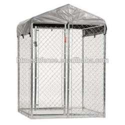 dog run 10' x 10' x 6' /chain link animal cage/dog kennels/dog runs kennel