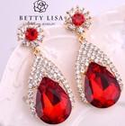 Top Design Crystal Jewelry Fashion 2015 CZ Drop Earring
