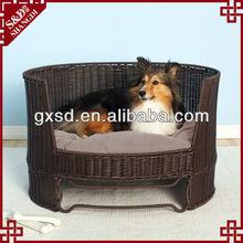 handmade durable rattan pet furniture for pets