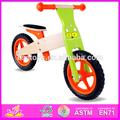 حار بيع الاطفال دراجة خشبية 2015، شعبية توازن الدراجة الخشبية، موضة جديدة w16c078 دراجة الاطفال