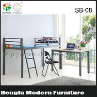 strong modern no screw iron children bed