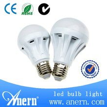CE ROHS approved 5w to 12w e27 led bulb e27
